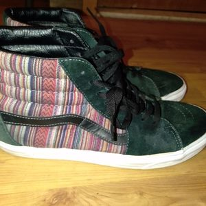 Van's high tops mens 11